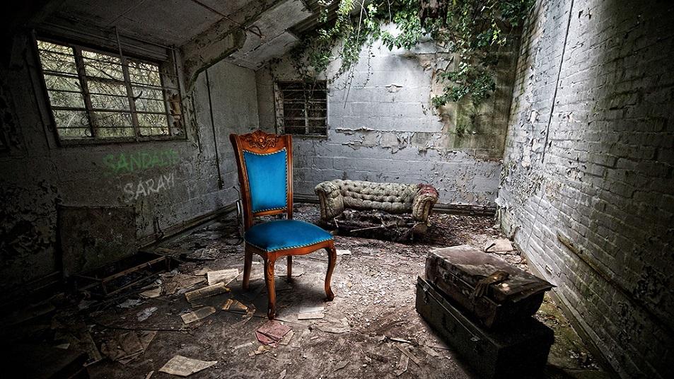 Sandalye Sarayı Giris
