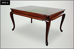 Wooden Table - sma2
