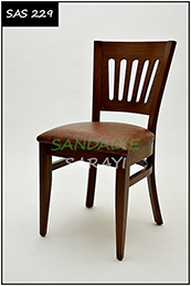 Wooden Chair - sas229