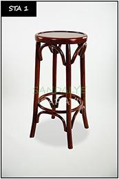 Wooden stool - Sta1
