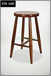 Wooden stool - sta100