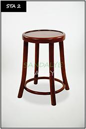 Wooden stool - sta2